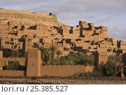 Купить «Aït Benhaddou Kasbah UNESCO site, Morocco. November 2008.», фото № 25385527, снято 15 августа 2018 г. (c) Nature Picture Library / Фотобанк Лори