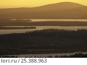 Kuusamo landscape, Oulanka, Finland, September 2008, фото № 25388963, снято 22 июля 2017 г. (c) Nature Picture Library / Фотобанк Лори