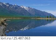 Купить «Lake Baikal, Siberia, Russia», фото № 25487063, снято 16 февраля 2019 г. (c) Nature Picture Library / Фотобанк Лори