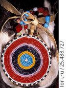 Купить «Koryak beadwork Kamchatka peninsula, Russia», фото № 25488727, снято 17 августа 2018 г. (c) Nature Picture Library / Фотобанк Лори