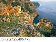 Купить «Olkhon island, Lake Baikal, Russia», фото № 25496475, снято 20 января 2018 г. (c) Nature Picture Library / Фотобанк Лори