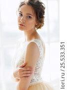 Купить «Beautiful bride», фото № 25533351, снято 5 апреля 2016 г. (c) Алена Роот / Фотобанк Лори