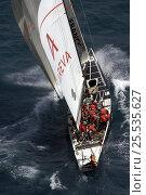"Купить «""Areva Challenge"" (FRA60) beating upwind, Louis Vuitton Act 11, Day 2, Fleet Racing, Valencia, Spain, 20th May 2006.», фото № 25535627, снято 16 августа 2018 г. (c) Nature Picture Library / Фотобанк Лори"