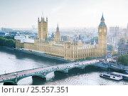 Купить «London - Palace of Westminster, UK», фото № 25557351, снято 9 сентября 2014 г. (c) Iakov Kalinin / Фотобанк Лори