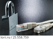 Купить «Network security concept and secure connection to Internet», фото № 25558759, снято 13 февраля 2017 г. (c) Александр Якимов / Фотобанк Лори
