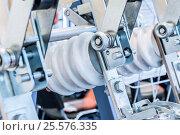 Купить «The high-voltage switch, element of the cell», фото № 25576335, снято 8 июня 2016 г. (c) Андрей Радченко / Фотобанк Лори