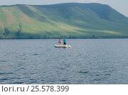 Рыбалка на озере Большом (2016 год). Редакционное фото, фотограф Олег Брагин / Фотобанк Лори