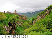 Sacred Tatev monastery (2011 год). Стоковое фото, фотограф Евгений Суворов / Фотобанк Лори