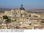 TOLEDO, SPAIN - AUGUST 24, 2012: Aerial view of Toledo, Spain. Стоковое фото, фотограф Шилер Анастасия / Фотобанк Лори