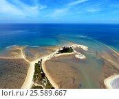 Aerial photo of cape and sea in Khao Lak. Стоковое фото, фотограф Михаил Коханчиков / Фотобанк Лори