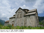 The Akhtala fortress-monastery a 10th-century fortified Georgian Orthodox Church monastery (2013 год). Стоковое фото, фотограф Воронин Владимир Сергеевич / Фотобанк Лори