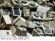 Свалка компьютеров. Стоковое фото, фотограф Elena Kucherenko / Фотобанк Лори