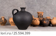 Decorative ceramics handmade. Стоковое фото, фотограф Глыцко Андрей / Фотобанк Лори