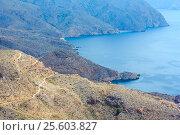 Купить «Mediterranean Sea coastline (Cartagena, Spain).», фото № 25603827, снято 28 мая 2016 г. (c) Юрий Брыкайло / Фотобанк Лори