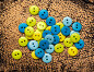 Pile of colorful buttons, фото № 25604363, снято 16 мая 2016 г. (c) Ярочкин Сергей / Фотобанк Лори