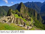 Купить «Вид на Мачу-Пикчу. Перу.», фото № 25617443, снято 13 октября 2016 г. (c) AK Imaging / Фотобанк Лори