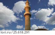 Купить «Mosque in Old Town, Rhodes, Greece (time lapse)», видеоролик № 25618291, снято 26 февраля 2017 г. (c) Владимир Журавлев / Фотобанк Лори