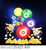 Play casino jacpot win illustration. Стоковая иллюстрация, иллюстратор julia Lebed / Фотобанк Лори