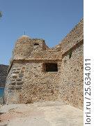 Купить «Башня форта Спиналонга. Крит. Греция», фото № 25634011, снято 30 мая 2016 г. (c) Владимир Тучин / Фотобанк Лори