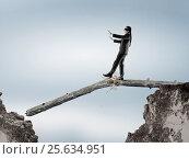 Купить «Overcome fear of failure. Mixed media . Mixed media», фото № 25634951, снято 31 августа 2007 г. (c) Sergey Nivens / Фотобанк Лори