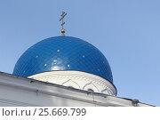 Купить «Свято-Троицкая церковь, основанная в 1841, Томск, Россия», фото № 25669799, снято 25 февраля 2017 г. (c) Наталия Макарова / Фотобанк Лори