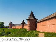 Суздальский кремль (2014 год). Редакционное фото, фотограф Fili Aule / Фотобанк Лори