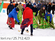Саамский хоккей (2017 год). Редакционное фото, фотограф александр лупкин / Фотобанк Лори