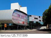 Leipzig German National Library Deutsche Nationalbibliothek Deutscher Platz. Стоковое фото, фотограф Reiner Elsen / age Fotostock / Фотобанк Лори