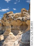 Castle Rock Badlands. Western Kansas, US (2012 год). Стоковое фото, фотограф Ирина Кожемякина / Фотобанк Лори