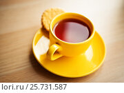 Tea and cookies. Стоковое фото, фотограф Валерия Лузина / Фотобанк Лори