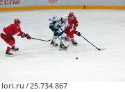 I. Bortnikov (91) in action. Редакционное фото, фотограф Alexander Mirt / Фотобанк Лори