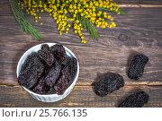 Купить «Dried fruit plums», фото № 25766135, снято 9 марта 2017 г. (c) Nunik Varderesyan / Фотобанк Лори