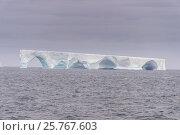 Купить «Floating iceberg, Elephant Island, South Shetland Islands, Antarctica, Polar Regions», фото № 25767603, снято 28 февраля 2016 г. (c) age Fotostock / Фотобанк Лори