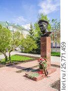 Памятник маршалу Советского Союза Г.К. Жукову в Нижнем Новгороде, фото № 25771459, снято 6 мая 2010 г. (c) Дмитрий Тищенко / Фотобанк Лори