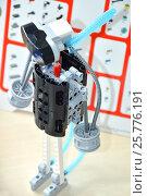 Модель из набора для робототехники (2016 год). Редакционное фото, фотограф Юлия Дьякова / Фотобанк Лори