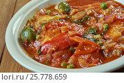 Купить «Portuguese chicken stew», фото № 25778659, снято 11 марта 2017 г. (c) Александр Fanfo / Фотобанк Лори