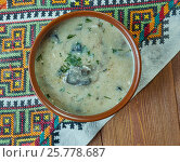 Купить «Czech Mushroom Soup», фото № 25778687, снято 16 марта 2017 г. (c) Александр Fanfo / Фотобанк Лори