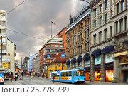 Купить «Вечер в Осло. Норвегия», фото № 25778739, снято 12 июля 2016 г. (c) Валерия Попова / Фотобанк Лори