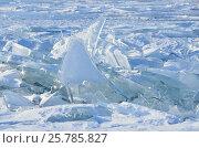 Купить «Озеро Байкал, ледяные торосы в солнечный весенний день», фото № 25785827, снято 6 июня 2020 г. (c) Овчинникова Ирина / Фотобанк Лори
