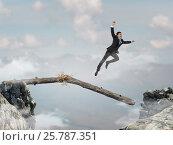 Купить «Overcoming fear of failure . Mixed media . Mixed media», фото № 25787351, снято 13 июля 2006 г. (c) Sergey Nivens / Фотобанк Лори
