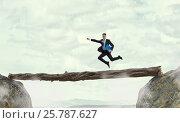 Купить «Overcome fear of failure . Mixed media . Mixed media», фото № 25787627, снято 24 марта 2014 г. (c) Sergey Nivens / Фотобанк Лори