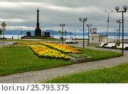 Купить «Stela City of Military Glory in Petropavlovsk-Kamchatsky», фото № 25793375, снято 13 августа 2016 г. (c) Юлия Машкова / Фотобанк Лори