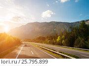 Купить «Autobahn», фото № 25795899, снято 9 мая 2012 г. (c) Юрий Губин / Фотобанк Лори