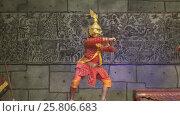 Купить «Khmer classical dancers Apsara Dance Cambodia», видеоролик № 25806683, снято 18 ноября 2016 г. (c) Михаил Коханчиков / Фотобанк Лори