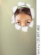 Купить «Composite image of half face of beautiful asian woman 3d», фото № 25807483, снято 17 июля 2018 г. (c) Wavebreak Media / Фотобанк Лори