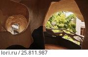 Купить «Hang Nga Guesthouse Crazy House, design Interior and Exterior landmark architecture Odd House», видеоролик № 25811987, снято 1 октября 2016 г. (c) Mikhail Davidovich / Фотобанк Лори