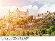 Купить «Old town of Toledo», фото № 25812691, снято 30 апреля 2012 г. (c) Юрий Губин / Фотобанк Лори