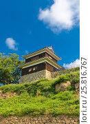 Купить «Западная Башня (16 в.) замка Уэда, г. Уэда, Япония», фото № 25816767, снято 4 августа 2016 г. (c) Иван Марчук / Фотобанк Лори
