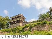 Купить «Западная Башня (16 в.) замка Уэда, г. Уэда, Япония», фото № 25816775, снято 4 августа 2016 г. (c) Иван Марчук / Фотобанк Лори