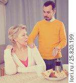 Купить «Mother and son arguing», фото № 25820199, снято 19 марта 2019 г. (c) Яков Филимонов / Фотобанк Лори